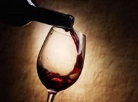 Недопитое вино для приворота