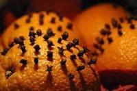 Талисман на любовь - апельсин с гвоздикой