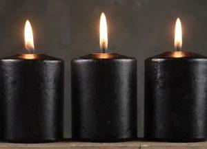Три черные свечи для приворота